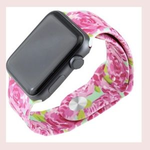 Lilly Pulitzer Roses Apple Watch Band